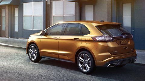 The 2015 Ford Edge Is Boring Its Tech Is Not