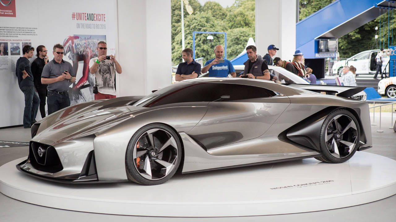 The Nissan Concept 2020 looks amazing in person