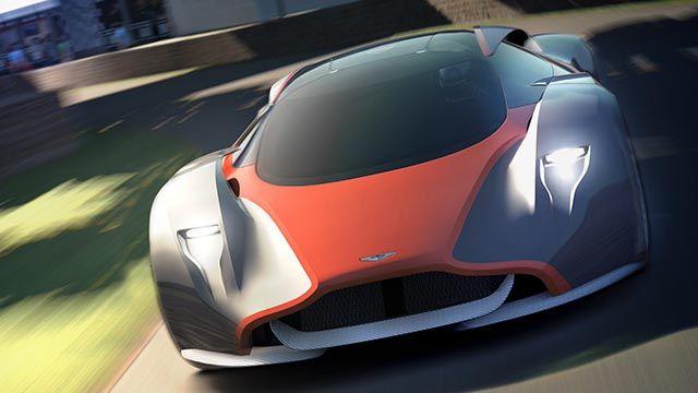 The DP-100 is Aston Martin's virtual LaFerrari-fighter