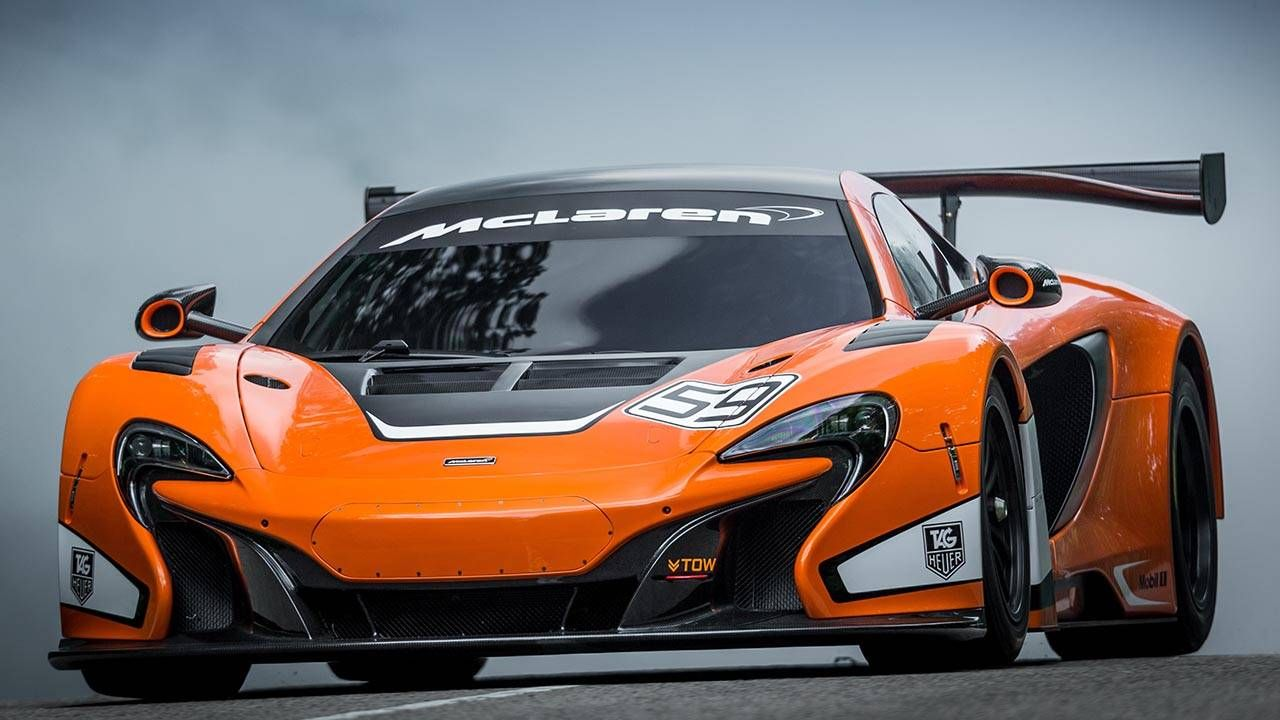 McLaren 650S GT3 is meaner, slipperier, and at Goodwood