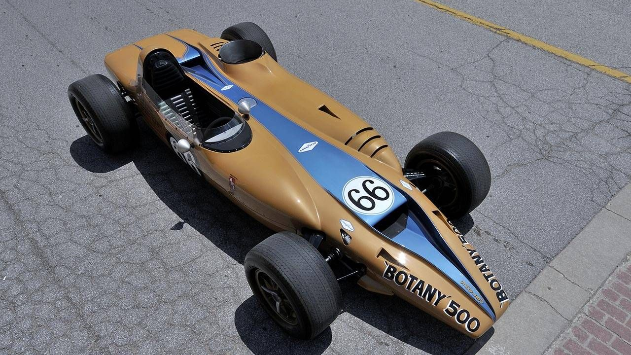 This brain-melting 1325-hp Shelby-built turbine Indycar is for sale