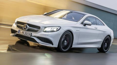 First Drive 2015 Mercedes Benz S63 Amg 4matic Coupe
