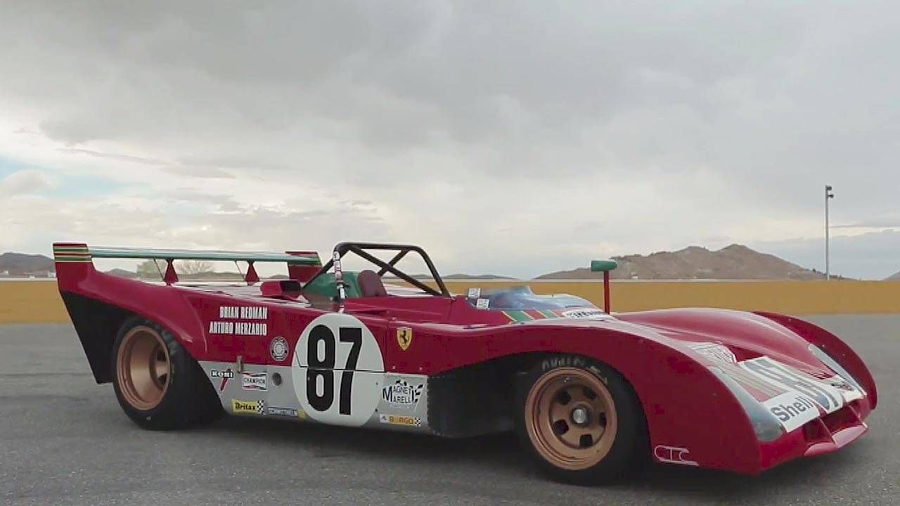 Sheet-ripper: The 1972 Ferrari 312PB is incredible in motion