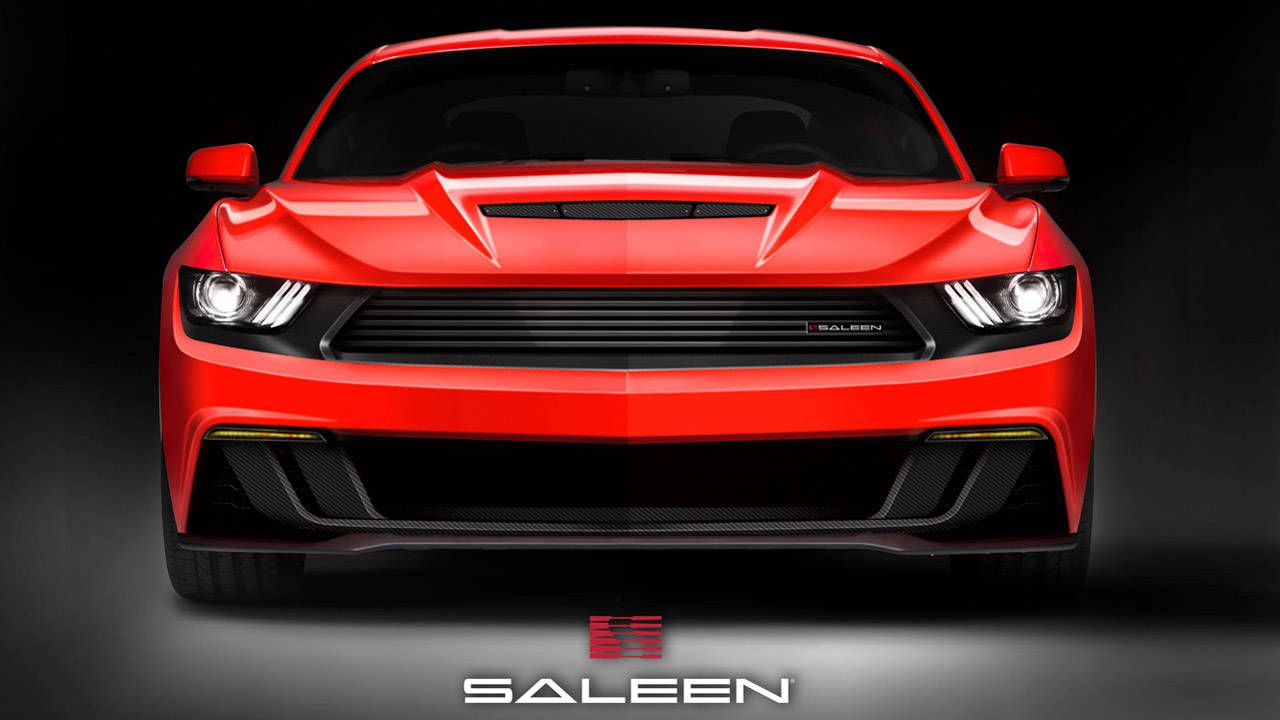 2015 Saleen S302 Mustang looks appropriately mean