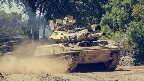 a sheridan tank
