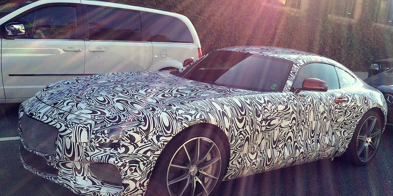 We stumbled upon the Mercedes-AMG GT in the wild