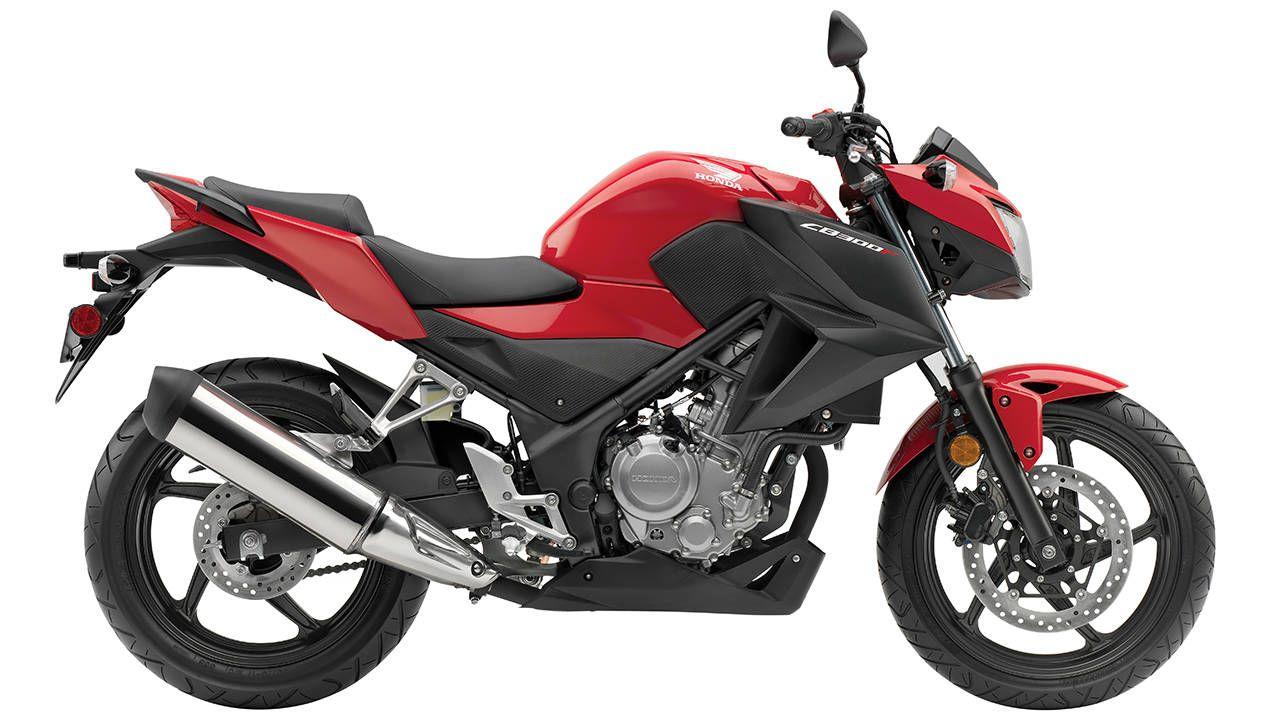 Here's your new starter bike: the Honda CB300F