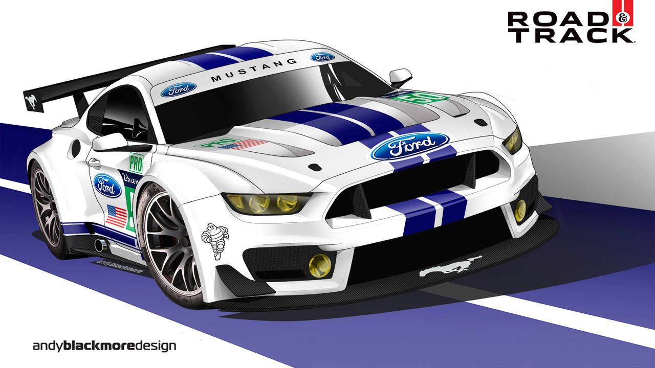 Why Ford Should Race The new Mustang At Le Mans - Motorsports Commentary  sc 1 st  Road u0026 Track & Why Ford Should Race The new Mustang At Le Mans - Motorsports ... markmcfarlin.com