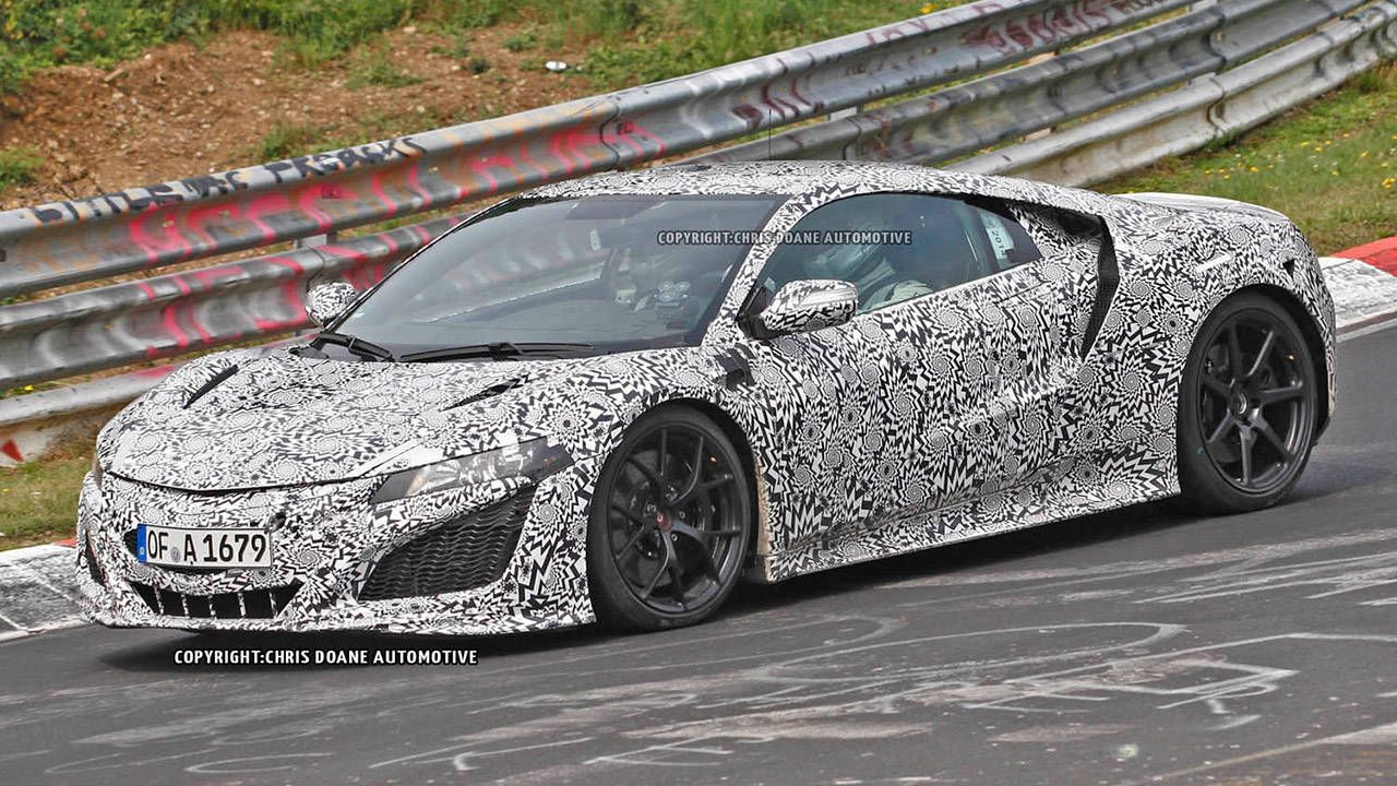 2015 Acura NSX hits the Ring in production trim