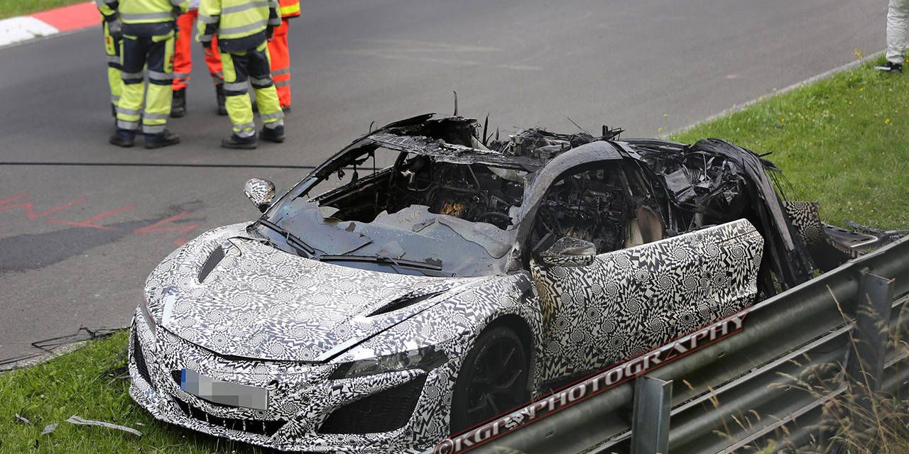 31 photos of the Acura NSX Nurburgring inferno