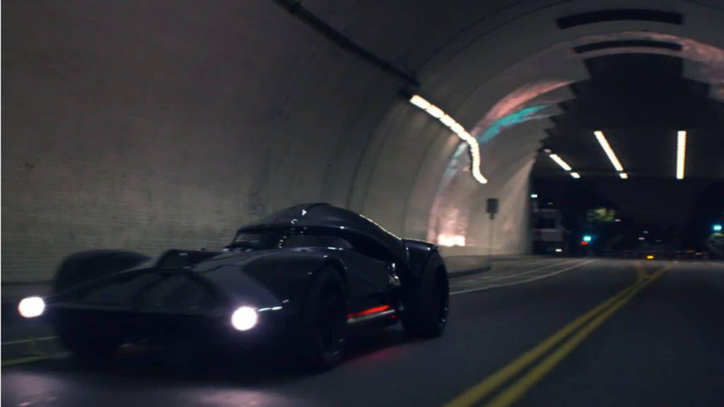 The Hot Wheels Darth Vader car really does drive