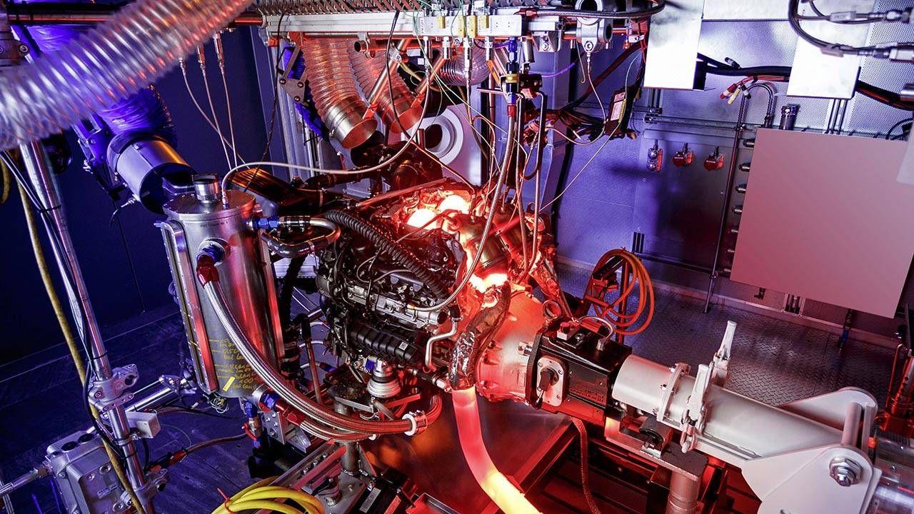 Meet the AMG GT's 4-liter, twin-turbo, 503-hp V8