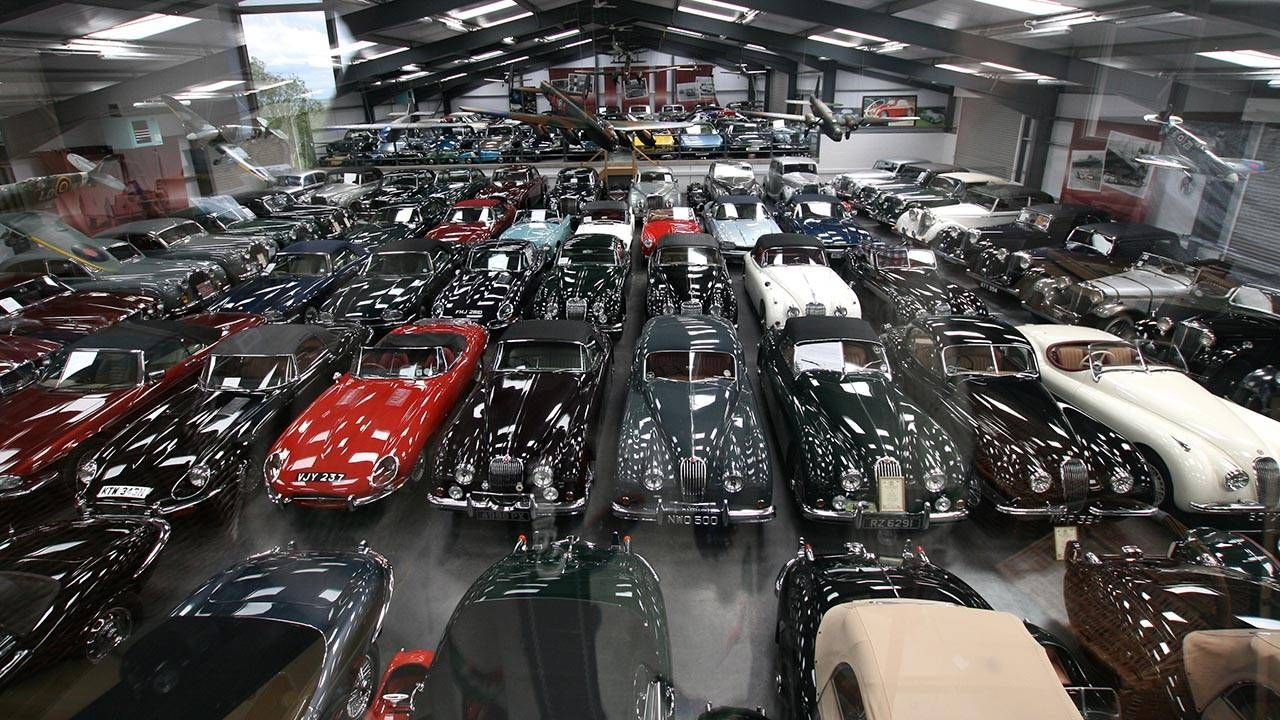 There Are Only 130 Jaguars In The 543 Car Collection Of Dr. James Hull, But  Jaguar Land Rover Has Bought Them All. It Was The Largest Privately Owned  ...