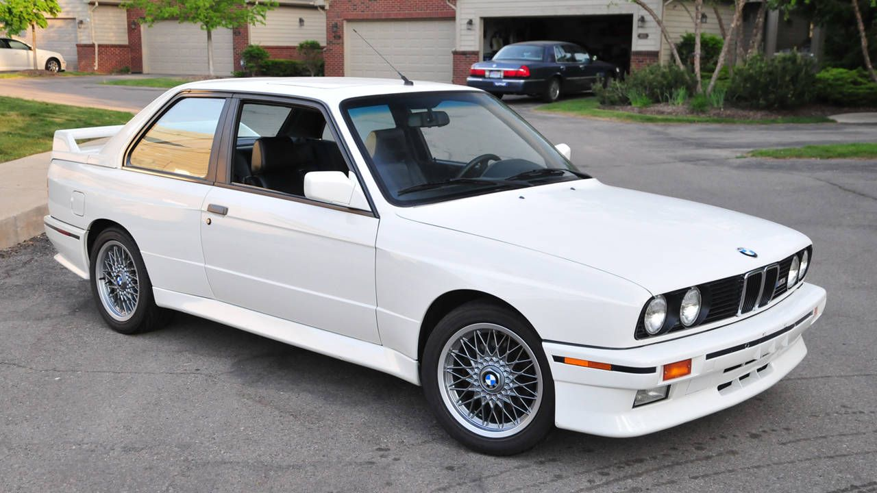 You'll be hard-pressed to find a nicer 1990 BMW M3