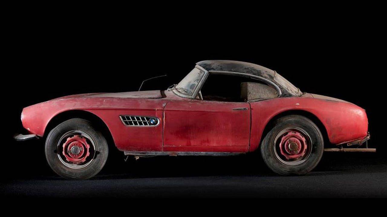 Elvis Presley's BMW 507 set for full restoration