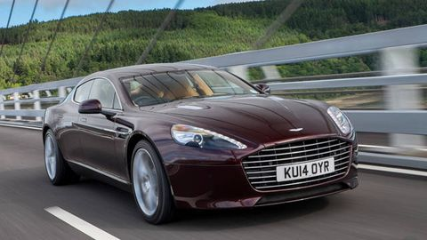 First Looks 2015 Aston Martin Rapide S And Vanquish