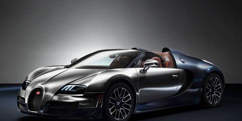 Photos: 2014 Bugatti Veyron Legend Ettore Bugatti