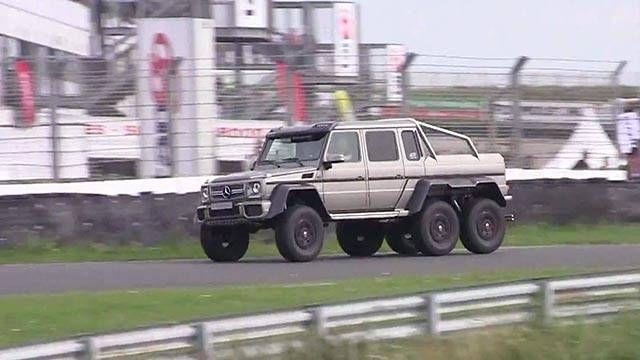 The Mercedes-Benz G63 AMG 6x6 is like an elephantine ballerina