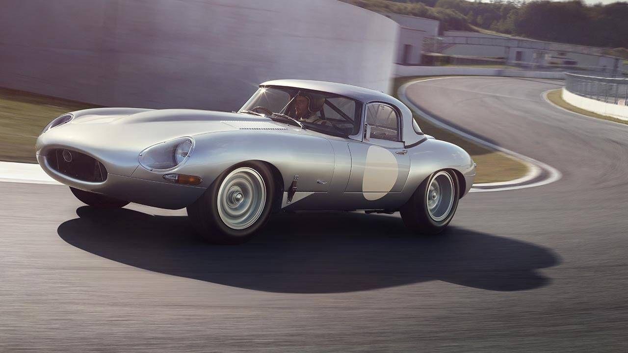 Jaguar reveals brand-new lightweight E-Types