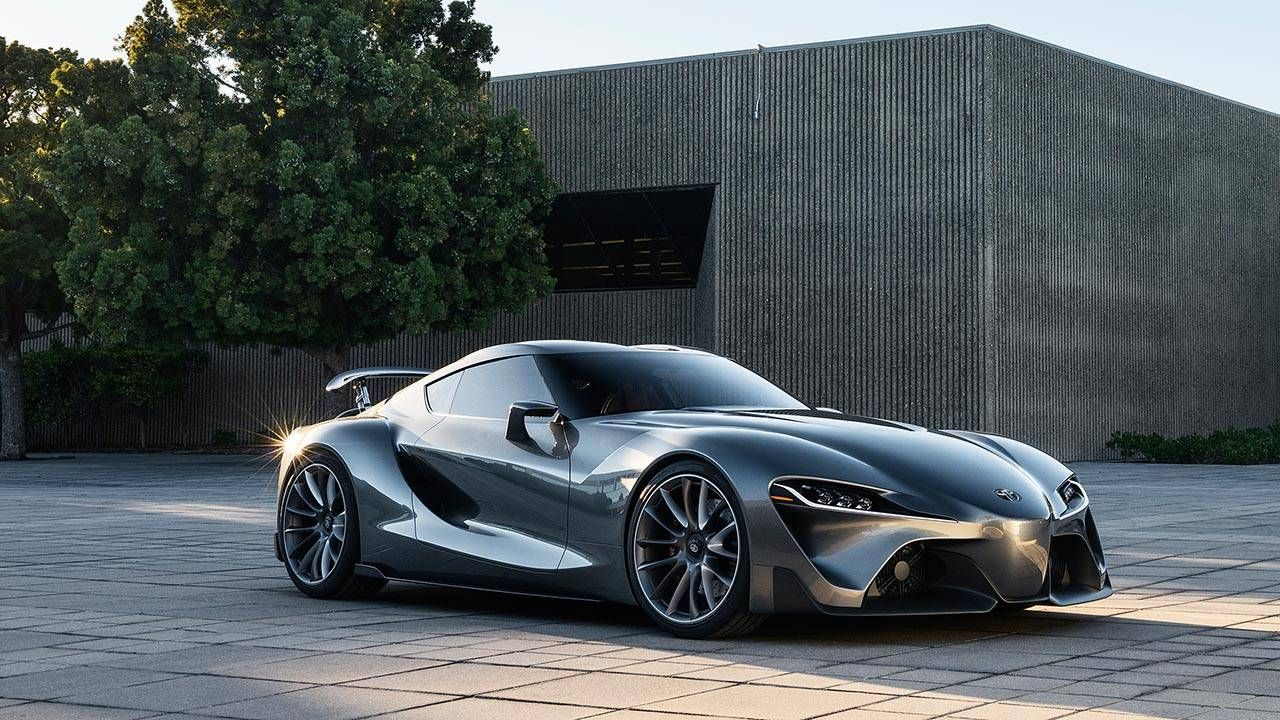 Toyota FT-1 goes gray at Pebble and full-race in Gran Turismo