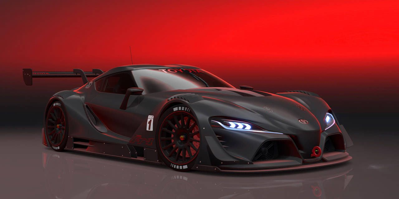Photos: Toyota FT-1 Vision GT