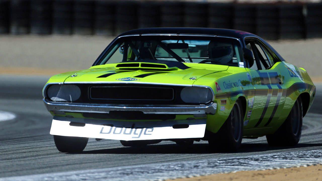 Sam Posey S 1970s Dodge Challenger Monterey Car Week
