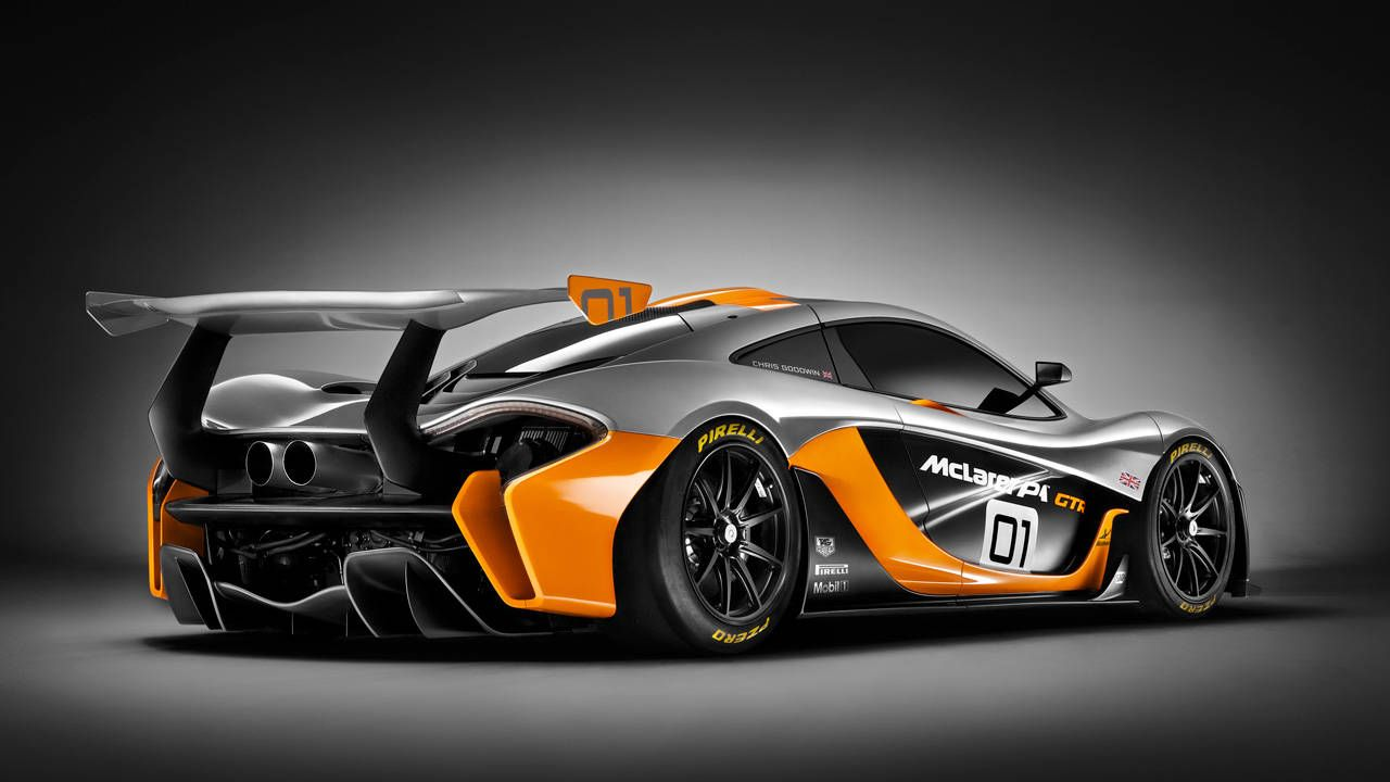 The McLaren P1 GTR makes the base P1 look tame