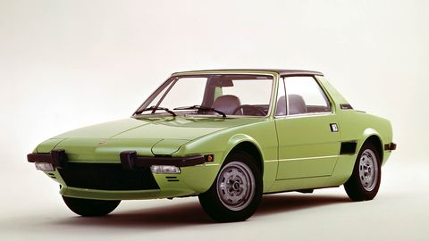 Land vehicle, Vehicle, Car, Regularity rally, Coupé, Classic car, Sedan, Fiat x1/9, Sports car,