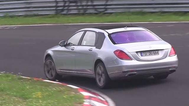 This 2015 Maybach is proof they'll test anything on the 'Ring