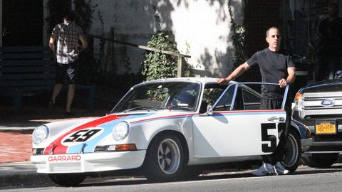 Hamptons Woman Backs Into Jerry Seinfelds Porsche