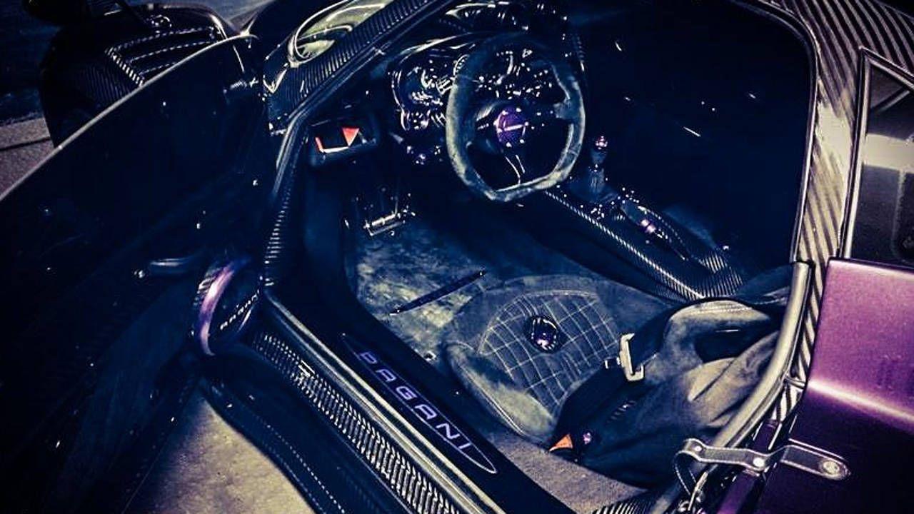 Lewis Hamilton's purple Zonda is an acquired taste