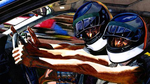 Personal protective equipment, Helmet, Windshield, Steering wheel, Automotive window part, Steering part, Motorcycle helmet,