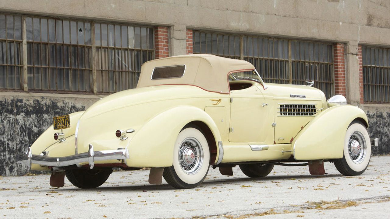 Shopping With Colin 1935 Auburn 851 Boattail Speedster