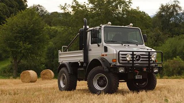 Arnold Schwarzenegger's custom Mercedes-Benz Unimog for sale