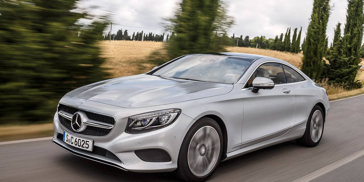 First Drives 2015 Mercedes Benz S550 4matic Coupe