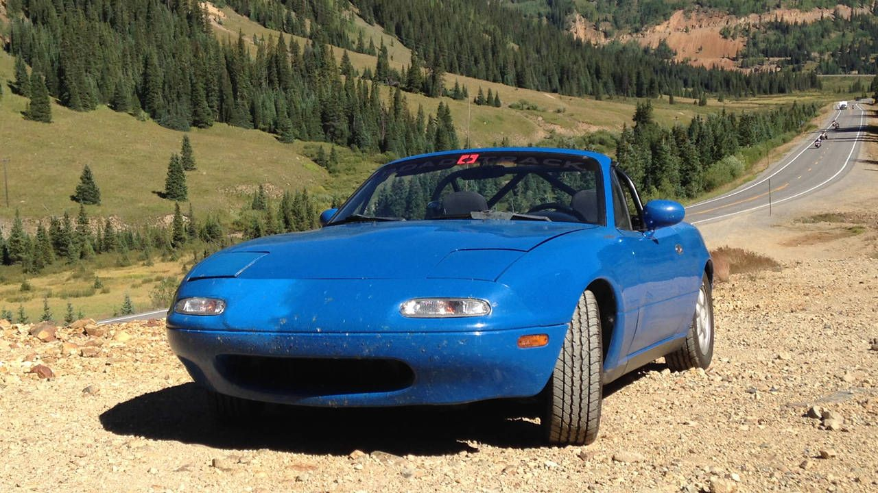 How 2800 miles in an old Miata prepped me for the new one