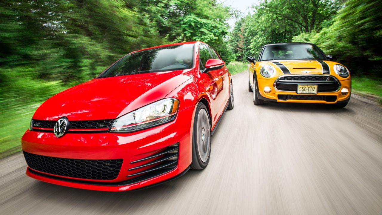 Comparo: 2015 Volkswagen GTI vs 2015 Mini Cooper S