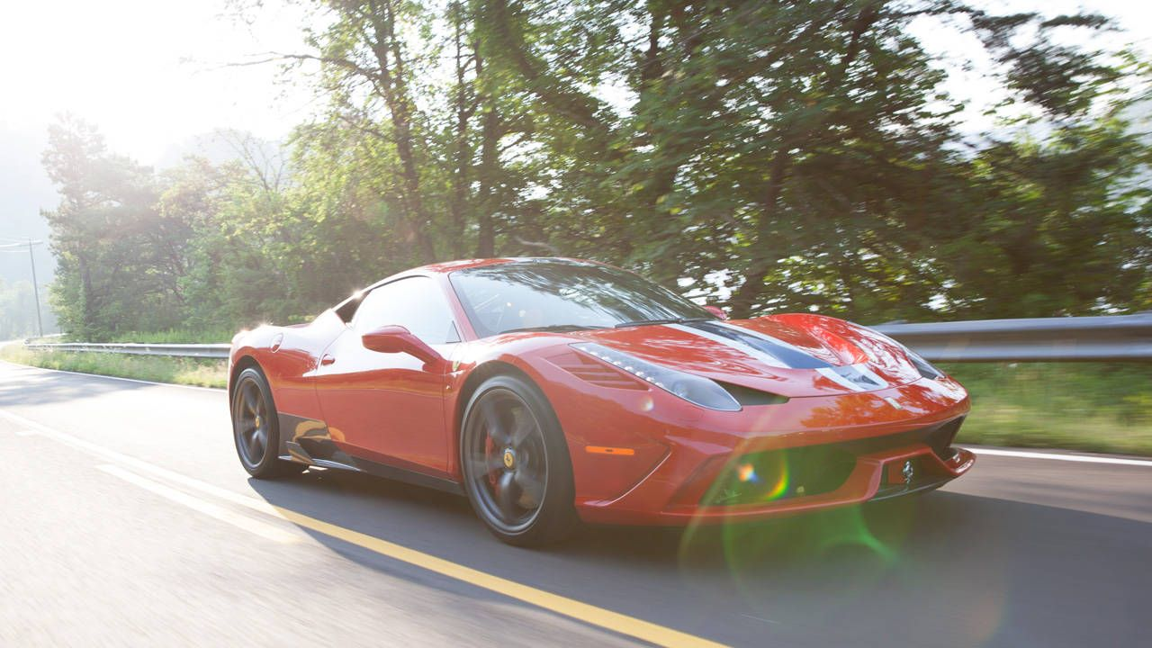 I took on the fastest man on the Dragon with a 458 Speciale