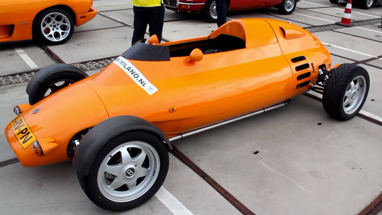 Before the McLaren F1, Gordon Murray penned the Rocket