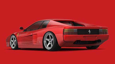 Mode of transport, Automotive design, Vehicle, Automotive exterior, Transport, Red, Car, Vehicle registration plate, Sports car, Auto part,