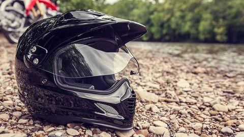 Personal protective equipment, Pebble, Motorcycle helmet, Helmet, Motorcycle accessories, Goggles, Rubble, Gravel,