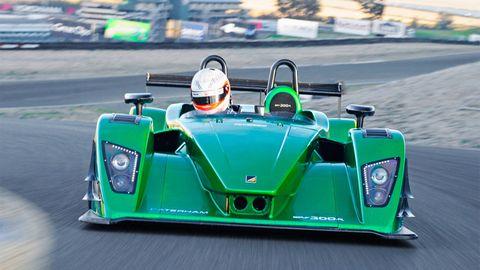 Mode of transport, Automotive design, Green, Transport, Car, Racing, Race track, Race car, Motorsport, Sports prototype,