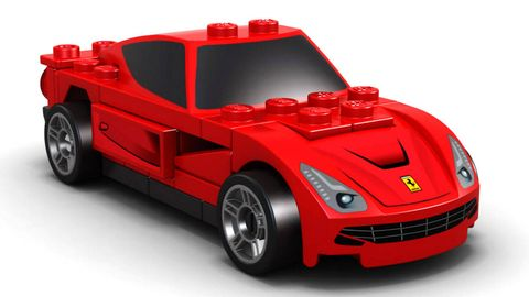 Wheel, Tire, Automotive design, Mode of transport, Transport, Vehicle, Automotive exterior, Red, Toy, Automotive lighting,