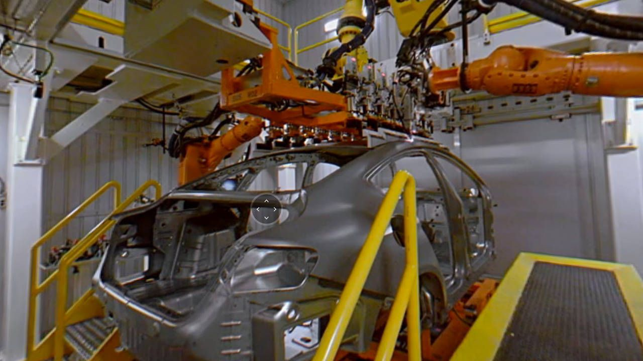 The Google Maps tour of the Chrysler 200 plant is NOT boring