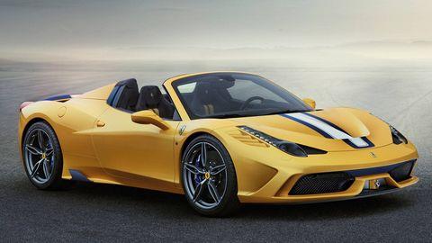 Tire, Wheel, Motor vehicle, Mode of transport, Automotive design, Vehicle, Yellow, Rim, Land vehicle, Performance car,