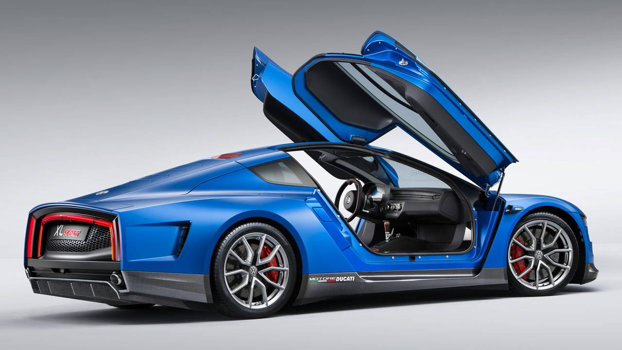 Ducati Powers The 168 Mph Volkswagen Xl Sport Concept