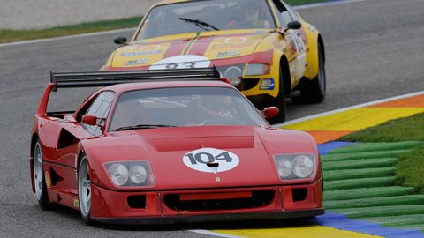 Video Ride Along In The Amazing Ferrari F40 Lm