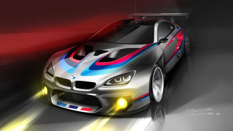 The BMW Z4 GT3 is dead, and its successor is the M6 GT3