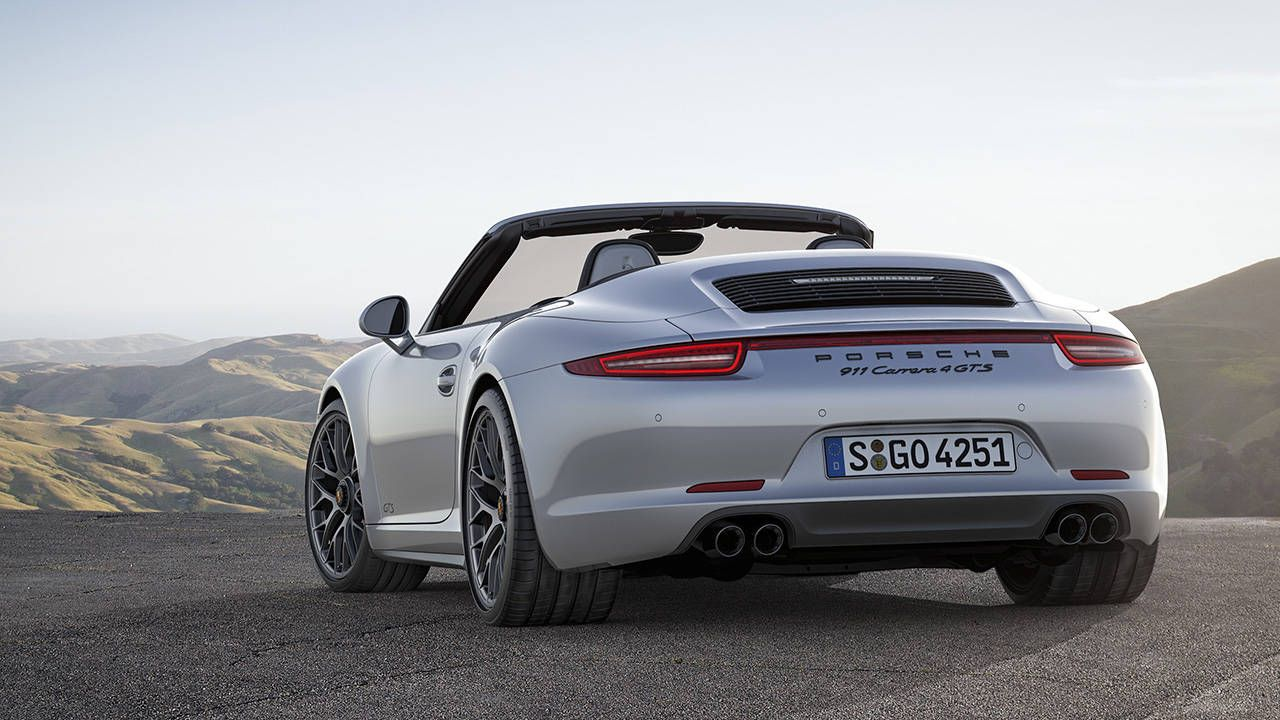 the 2015 porsche 911 gts is almost the manual trans gt3 you want