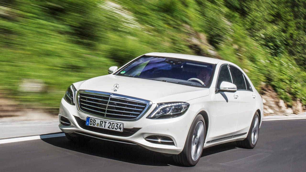 7 reasons why the Mercedes-Benz S550 Plug-In is the best hybrid